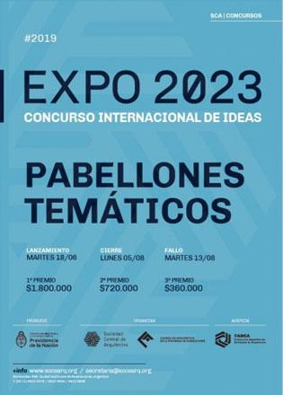 EXPO 2023 - CONCURSO Nº 5 'PABELLONES TEMÁTICOS'
